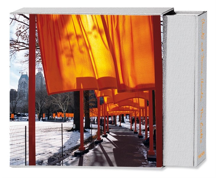 The Gates by Christo and Jeanne-Claude book at Zane Bennett