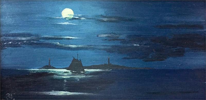 Moon over Thacher's woe