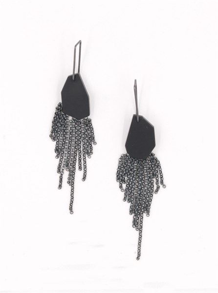 Kelsey Simmen- Acrylic Earrings- Form and Concept Gallery- Santa Fe New Mexico