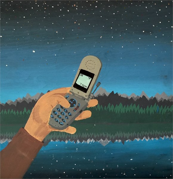 """flip-phone"" by Dave Huebner"