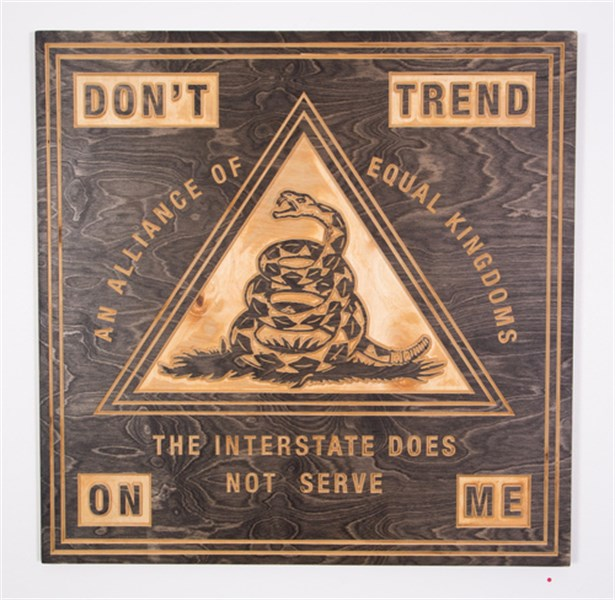 Don't Trend On Me Sign