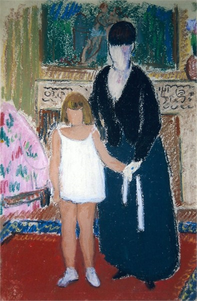 Mother & Daughter, 1933