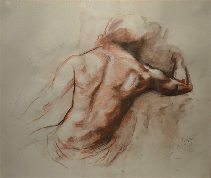 Nude Study (Back)