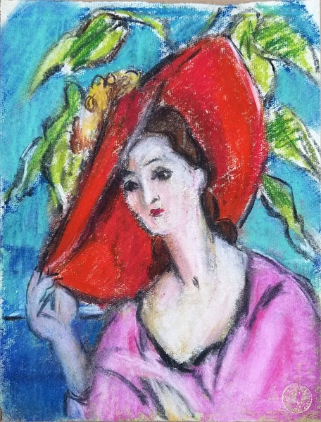 Self-Portrait with Hat, c. 1928