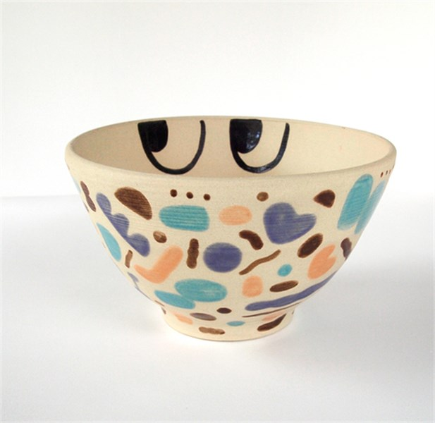 Simplexity Bowl With Eyes