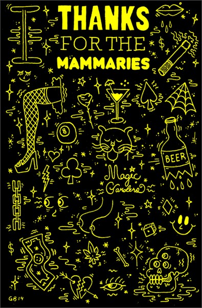 """Thanks for the Mammeries"" by Greg Bemis"