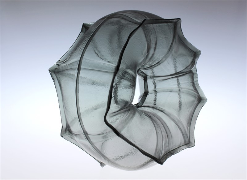 Matthew Szösz Glass Sculpture- Form and Concept Gallery- Santa Fe New Mexico