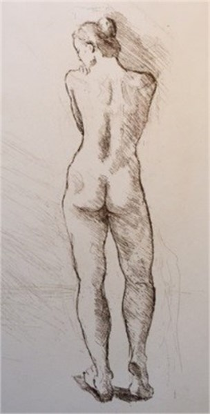Standing Nude #3/20