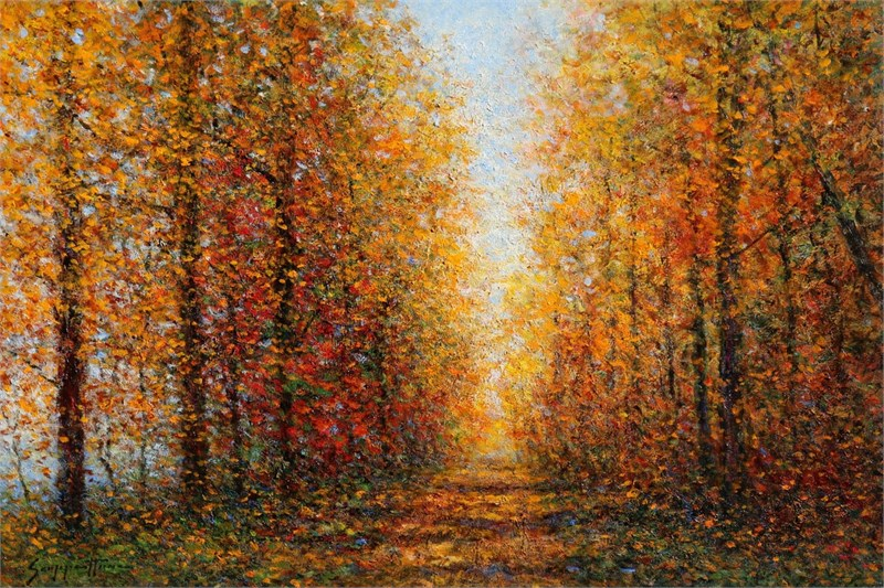 An Autumn Lane