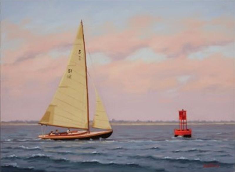 Sailing toward the Buoy