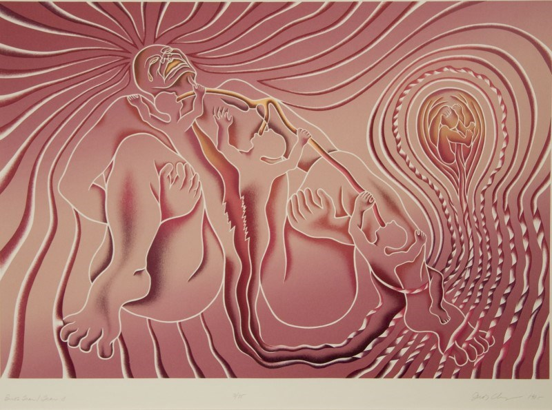 Judy Chicago Artwork- Fine Art Print- Zane Bennett Contemporary Art- Santa Fe New Mexico