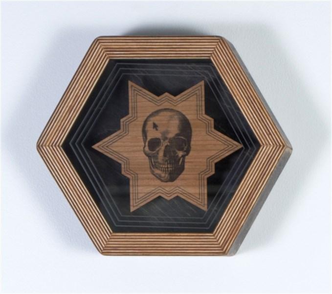 Hex Framed Temple Symbol 2