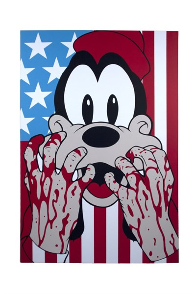 """Bleeding Hands Goofy"" by Ben Frost"
