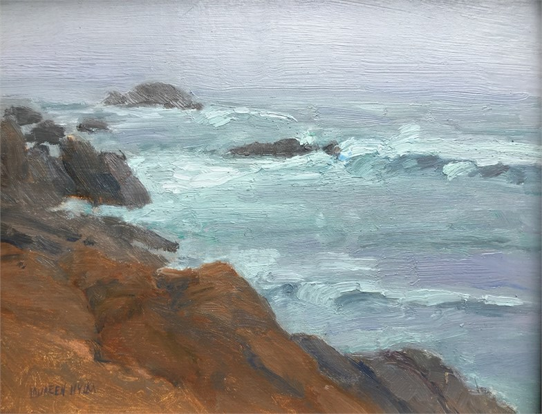 Along Bass Rocks