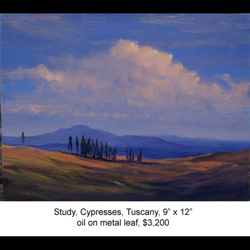Cypresses in Tuscany, 2020