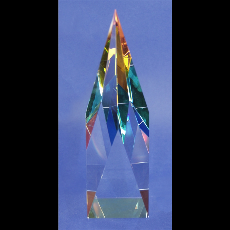 "Crystal Cathedral Sculpture 08""-AW"