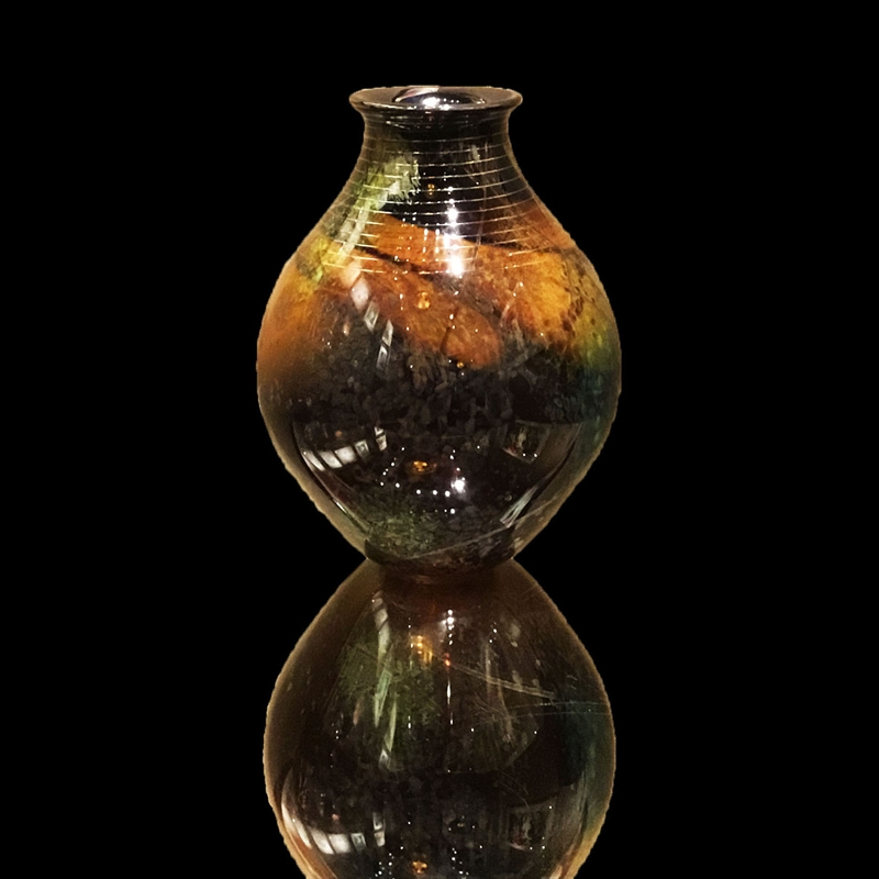 Autumn Leaves Vase SK-70