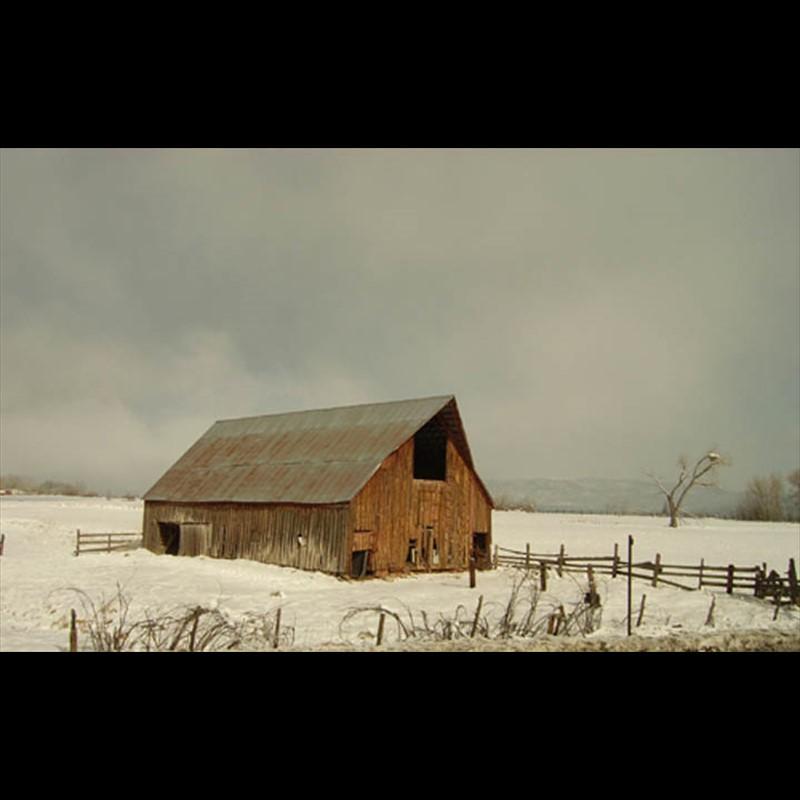 Winter Barn - Colorado