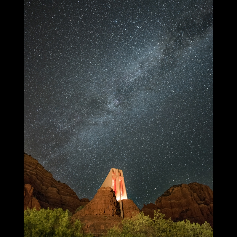 Chapel Under the Stars-AW