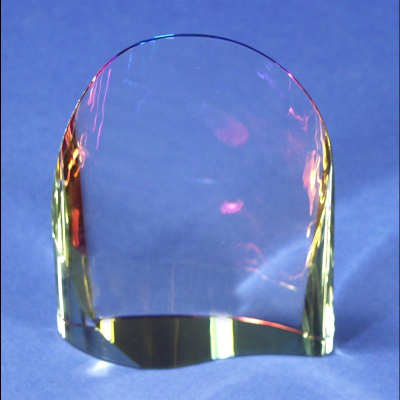 """Crystal Wedge 8.5"""" x 6"""""""