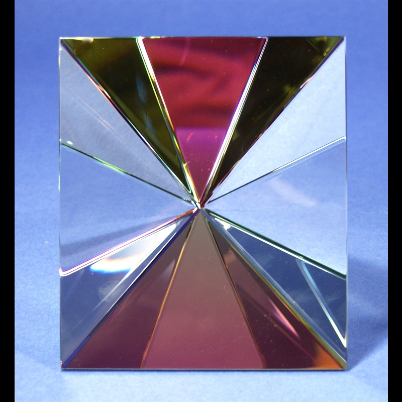 """Crystal Starburst Faceted with Large Face 6"""""""