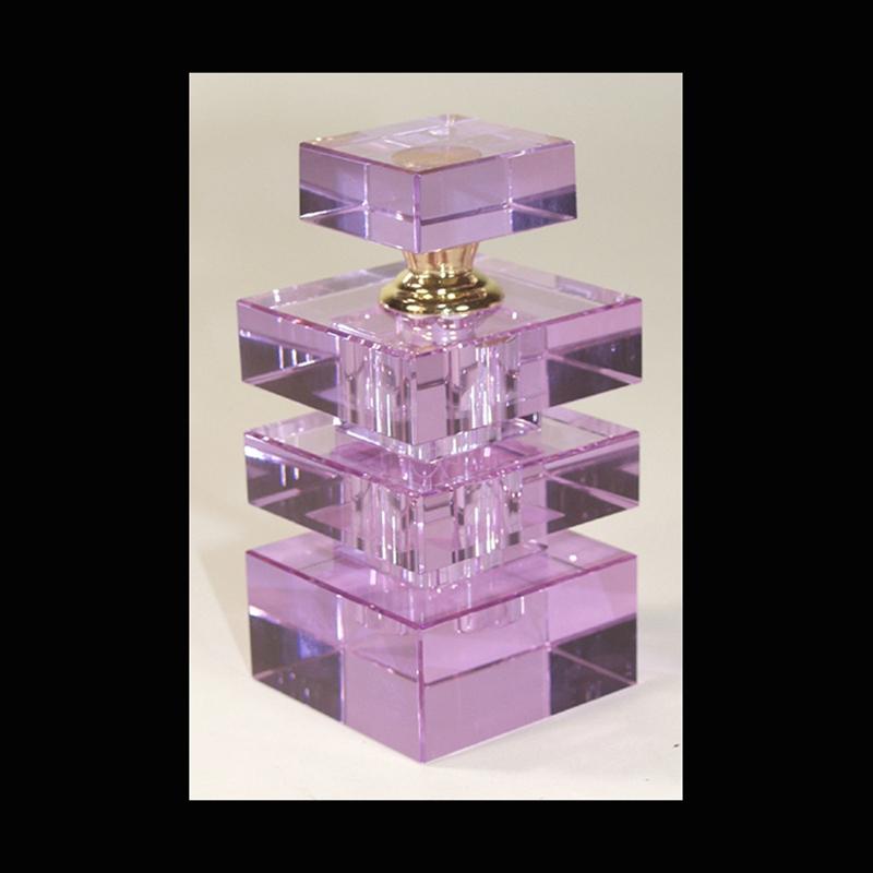Crystal Perfume Bottle Purple