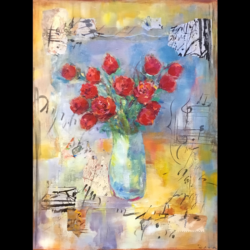 Musical Bouquet (Adoring Roses)