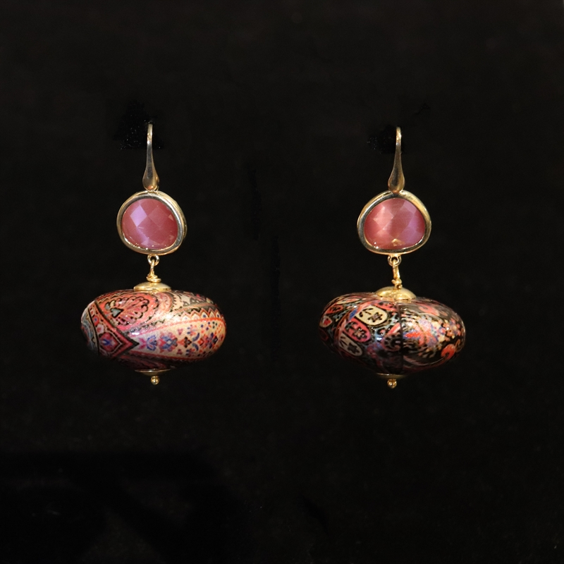 OR-EARRINGS SOFFIATO CASHMERE