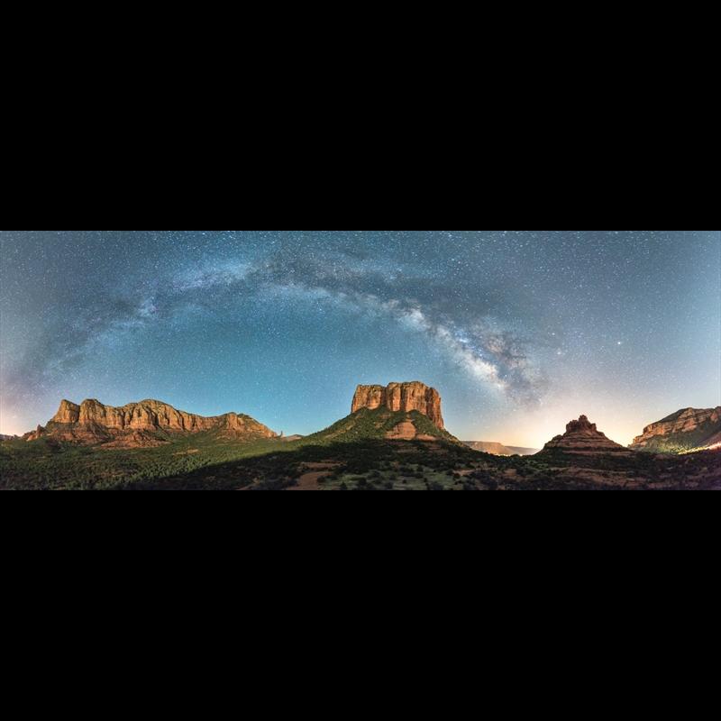 Milky Way Over Sedona-AW