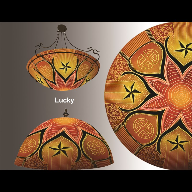 "Display Lucky 24"" Ring - S"