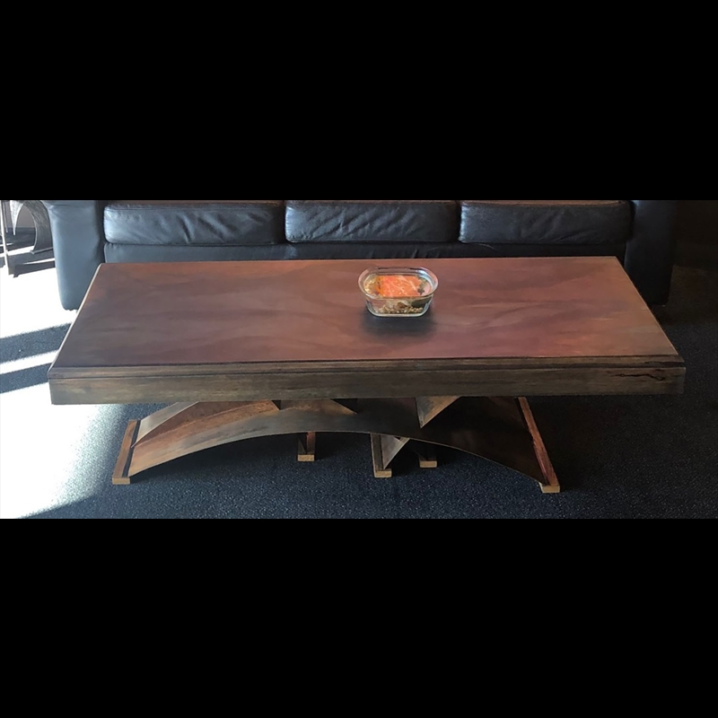 Matte Juniper Coffee Table