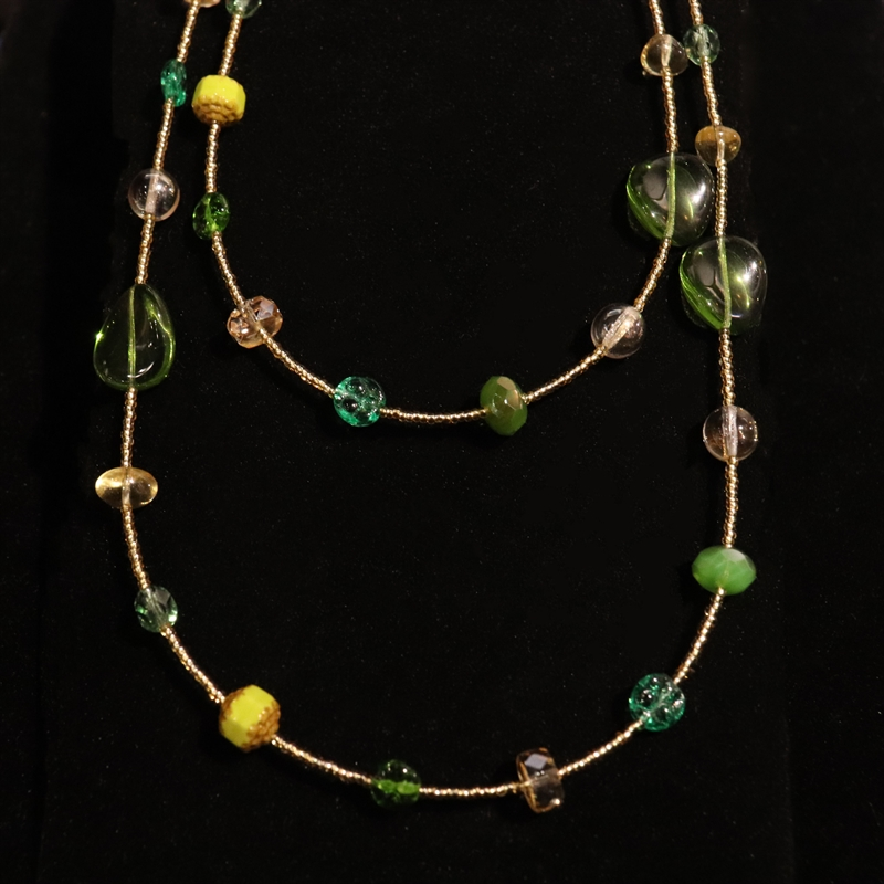 CL 6067 Collana Multiflo con Perline Multi Necklace