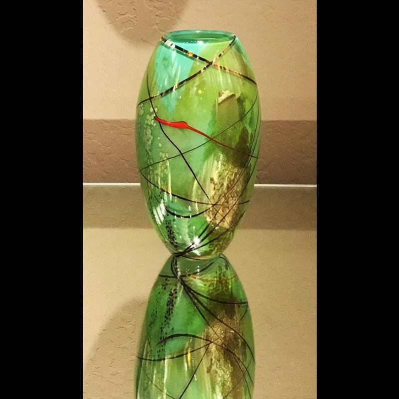Brocade Vase SK-64