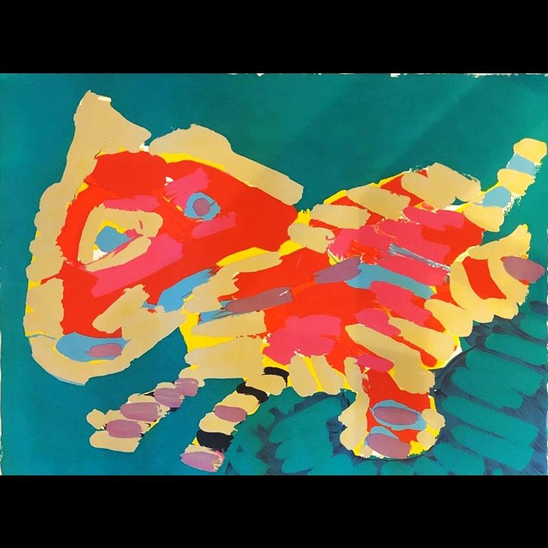 Cats Series (Luminous Cat), 1978