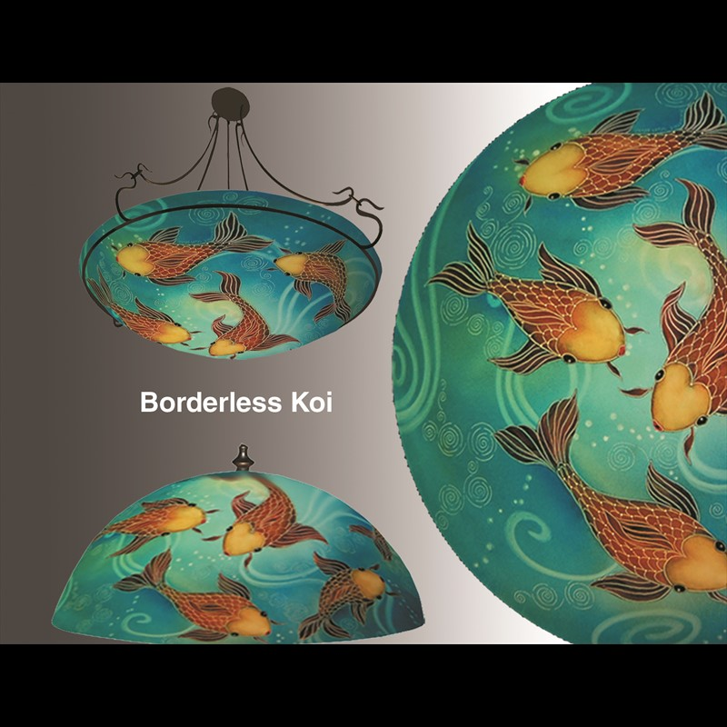"Display Koi Borderless 24"" Ring - S"