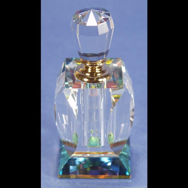 Crystal Perfume Bottle 5 x 2 3/8-S
