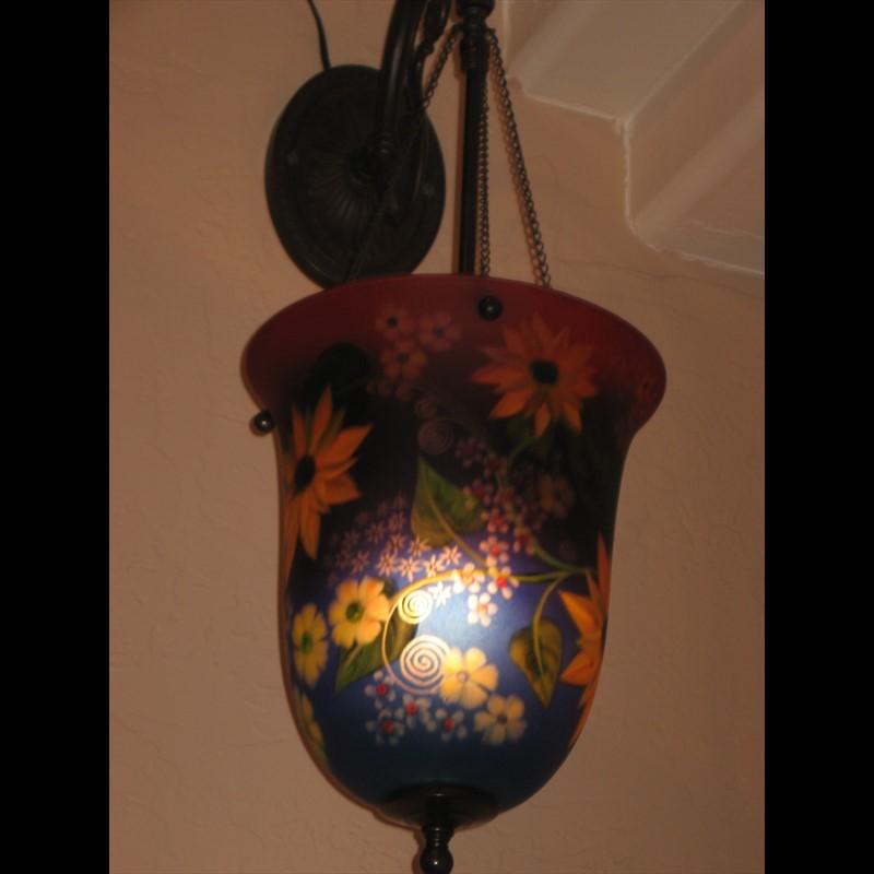 Display Lantern-Sunflower - S