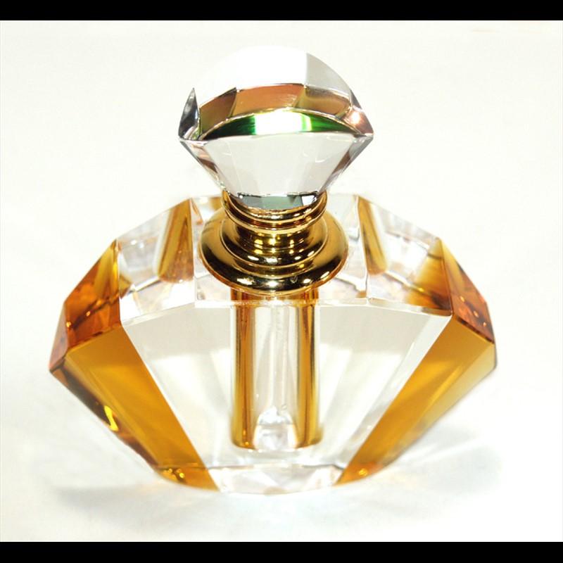 Crystal Perfume Bottle 3.75x3x1-PO