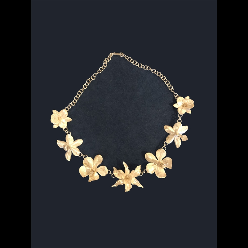 Seven LG Orchid Necklace