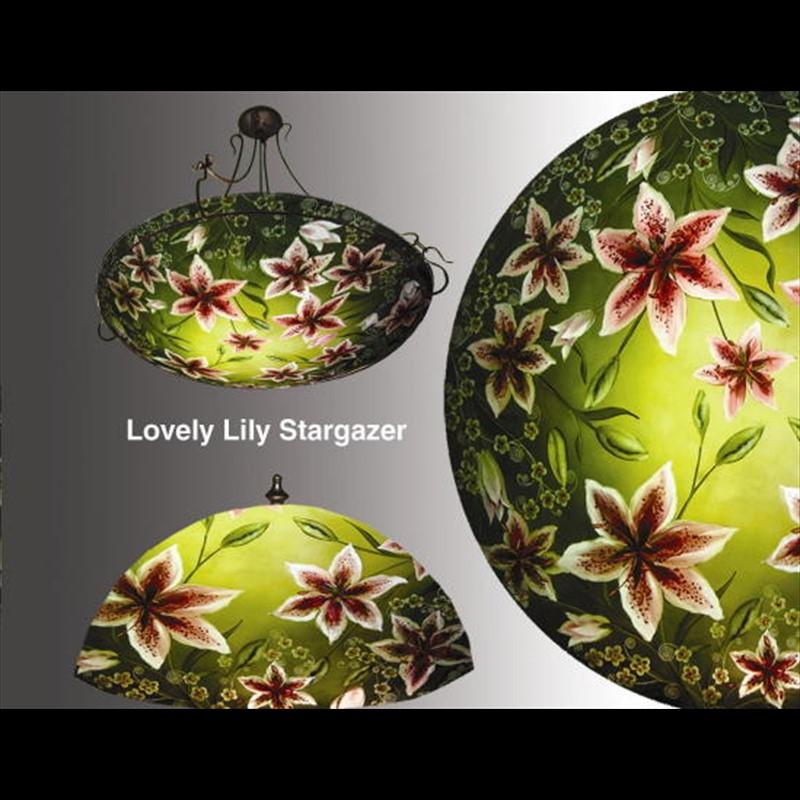 "Display Stargazer Lilly 30"" Ring - S"