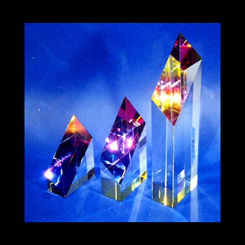 Crystal Sculpture 3 Piece Abstract Set