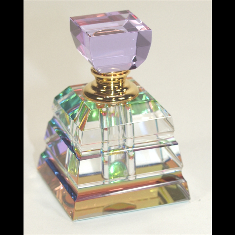 Crystal Perfume Bottle-Square-PO