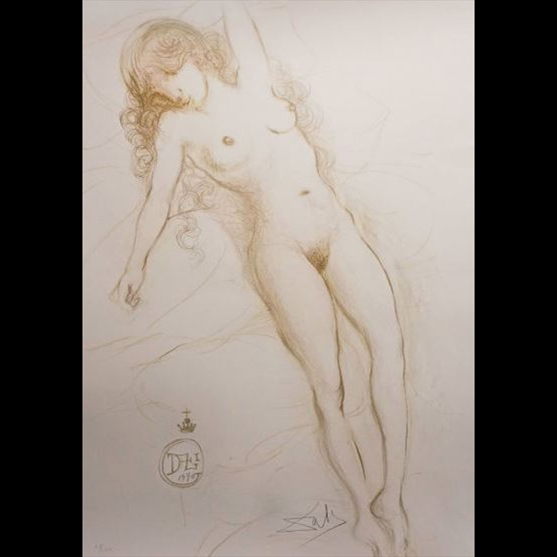 Nu Du Bras (Nude with Raised Arm), 1970