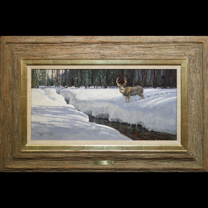 Mule Deer Buck (1989)