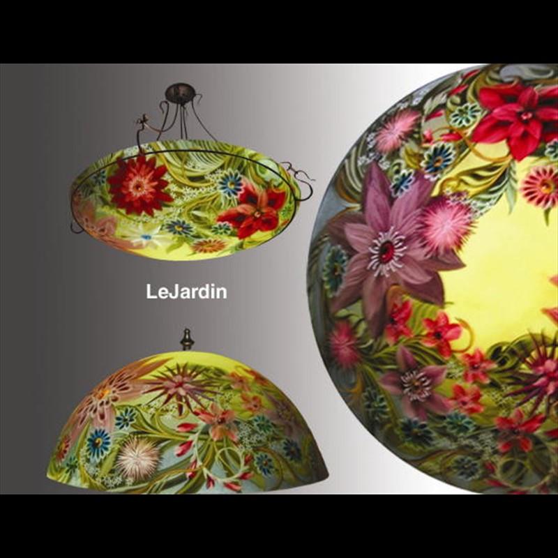 "Display Lamp-Le Jardin 18""-#11 base - S"