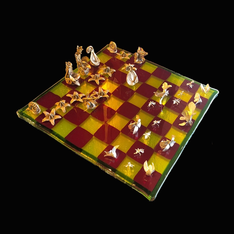Orchid Chess Set, 2019