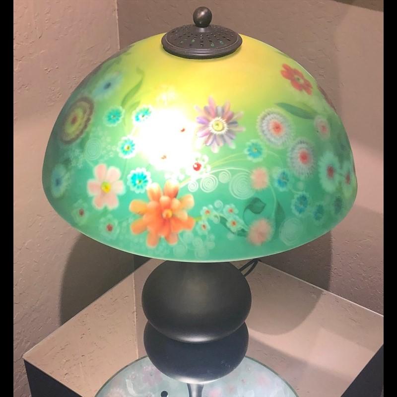 "Lamp 30"" Series #11 (Spring Garden #2)"