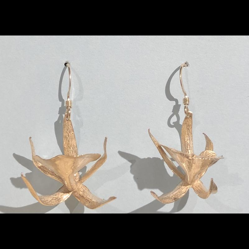 Octopus Orchid Earrings