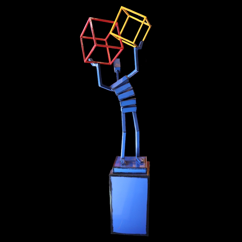 Figure w/ Intersecting Cubes