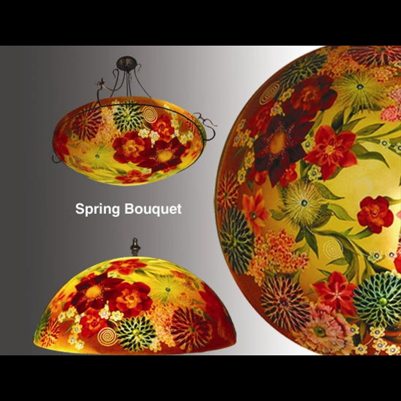 "Display Spring Bouquet 24"" Ring - S"